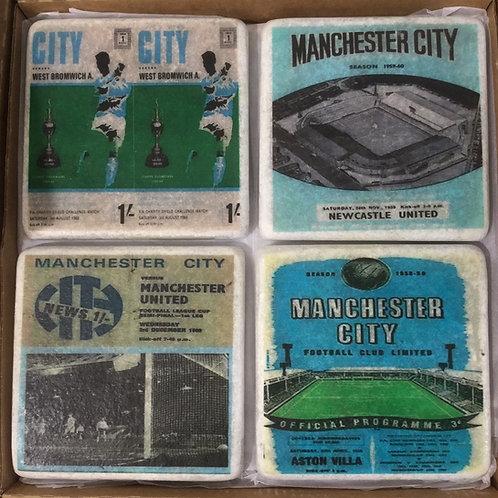 Manchester City Coaster Set