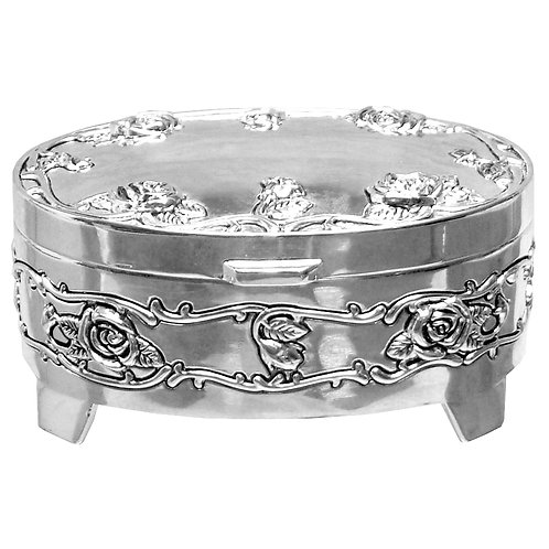 Oval Trinket Box