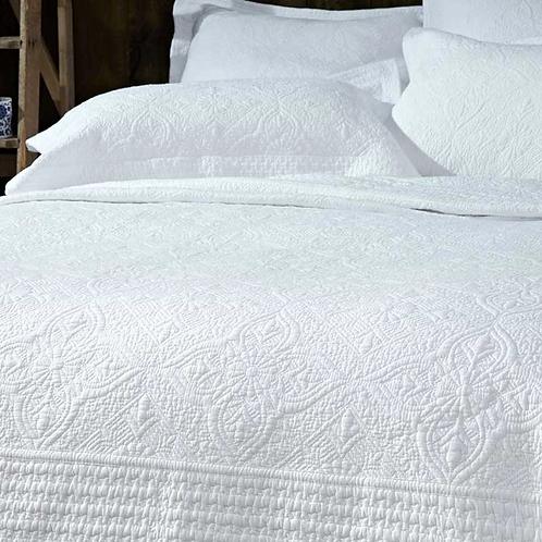 White Stitched Pillowsham