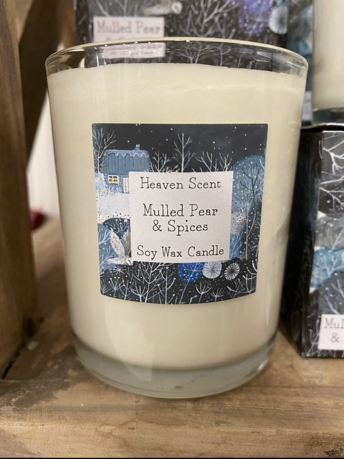 Mulled Pear & Spices 20cl candle
