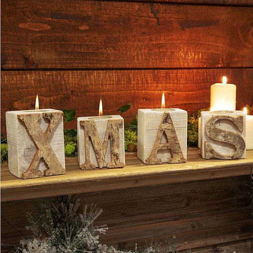 XMAS Tealight Holder Set