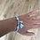 Thumbnail: Silver Heart and Bee Bracelet