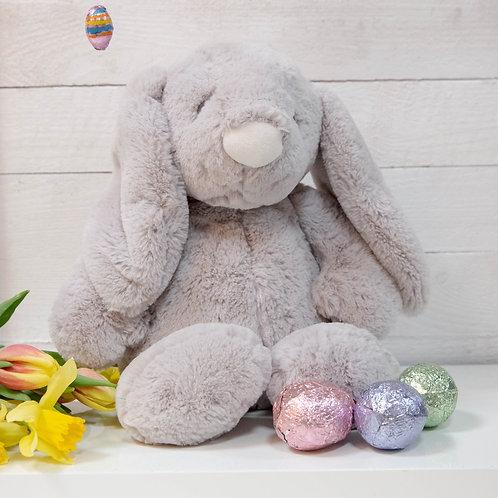 Large Grey Plush Bunny Rabbit