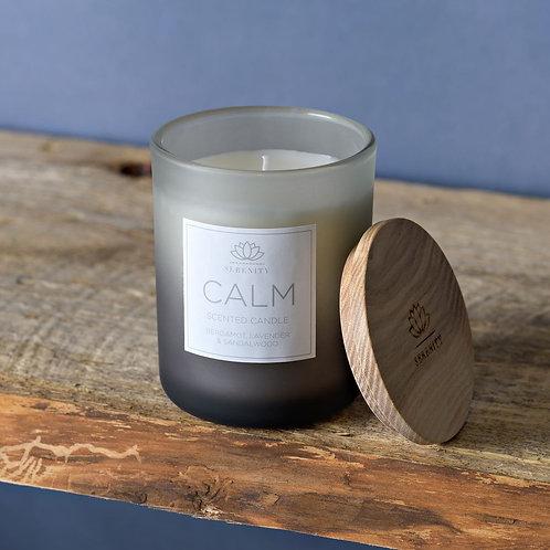 Serenity Bergamot, Lavender & Sandalwood Small Candle