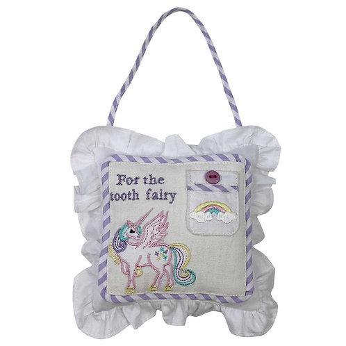 Unicorn Tooth Fairy Cushion