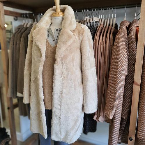 Yaya Faux Fur Coat