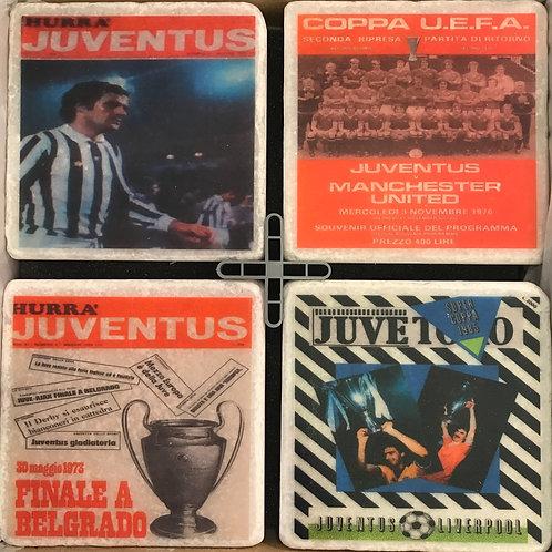 Juventus Coasters Set