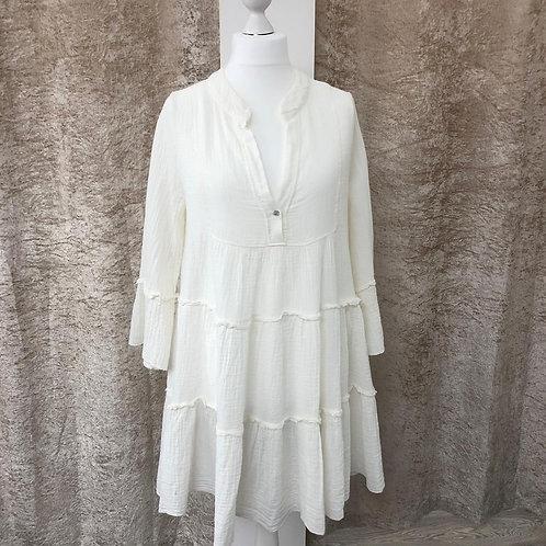 Layered Cotton Dress