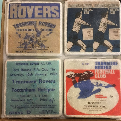 Tranmere Rovers Coasters Set