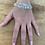 Thumbnail: Multi Strand Silver and Rose Gold Star Bracelet
