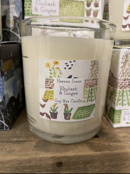 Rhubarb & Ginger 9cl candle