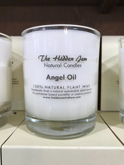 Hidden Jem Angel Oil Candle 30cl