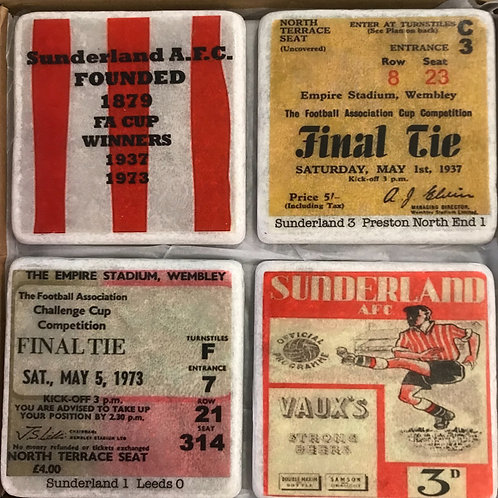 Sunderland Coasters Set