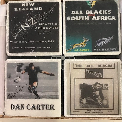 New Zealand All Blacks Coasters Set