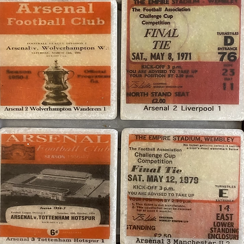 Arsenal Coasters Set