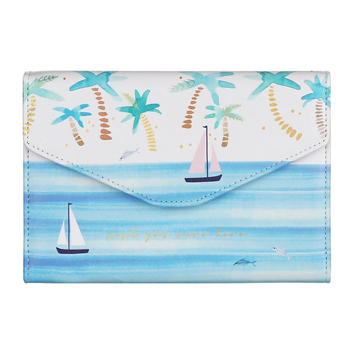 By The Sea Travel Wallet