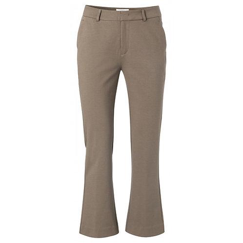 Yaya Chocolate 7/8 Trousers