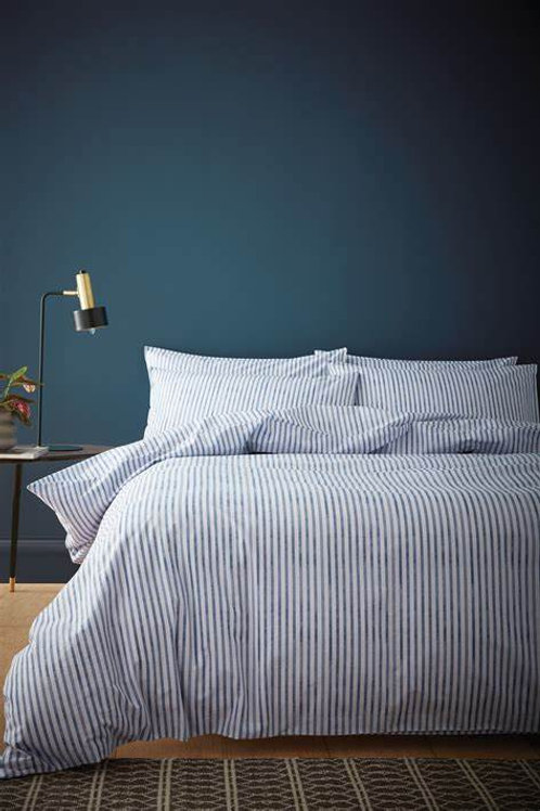 Chelsea Textured Stripe Duvet Set