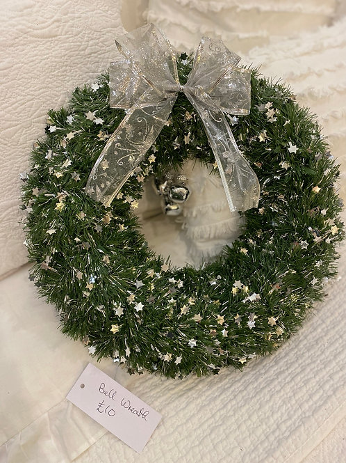Green Bell Wreath