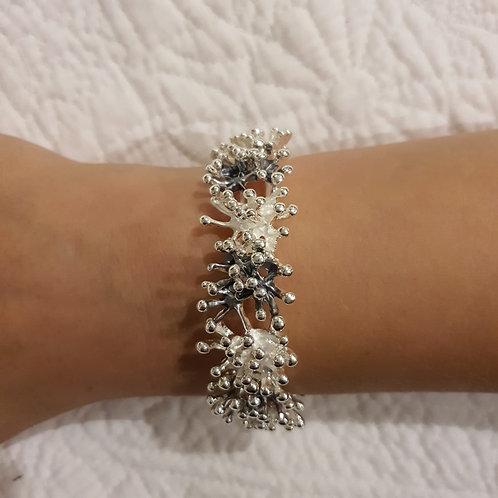 Silver & Grey Bracelet