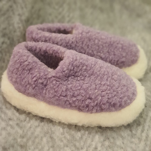 Lilac Siberian Slippers