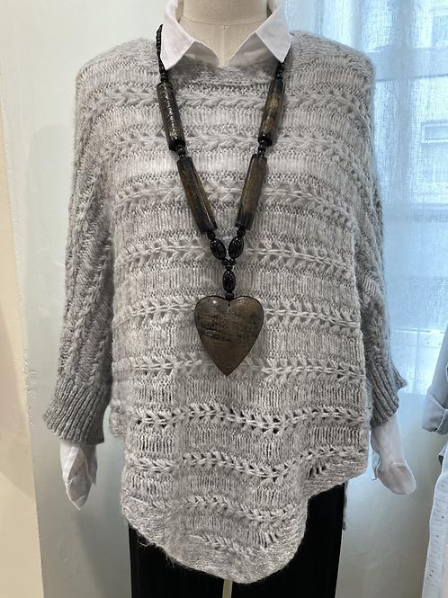 Knitted Asymmetric Jumper