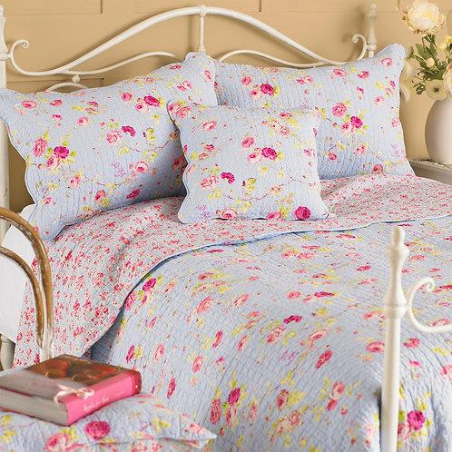 Blue Floral Quilt