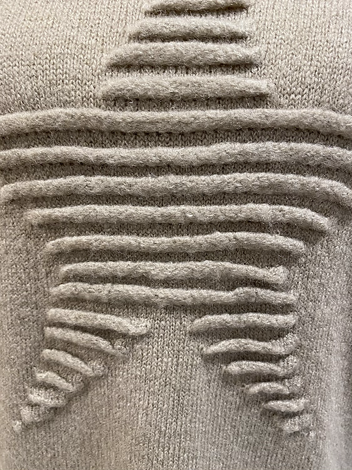 Embossed Star Sweater