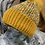 Thumbnail: Mustard Knitted Sparkle Hat