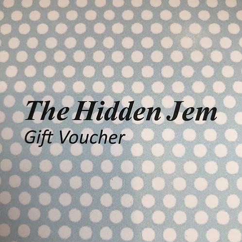 Hidden Jem Gift Voucher