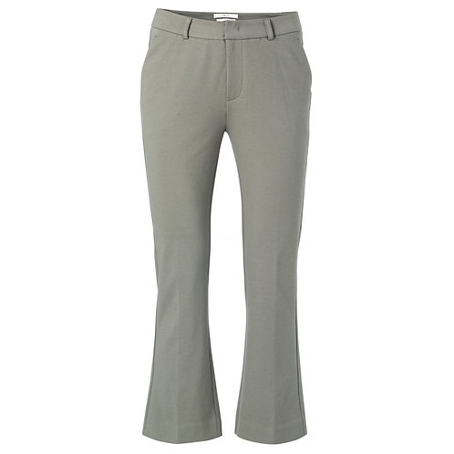 Yaya Blueish Grey 7/8 Trousers