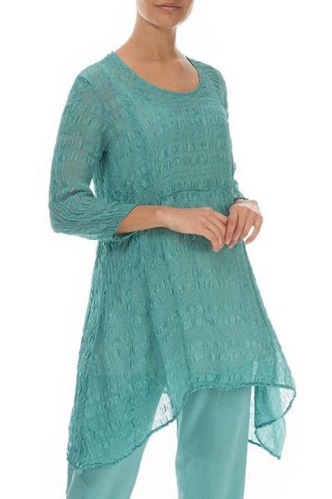 Grizas Green Silk Tunic