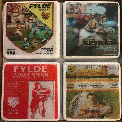 Fylde Rugby Club Coaster Set