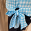 Thumbnail: Blue and White Check Tie Top