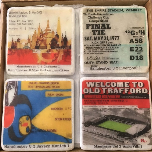 Manchester United Coaster Set