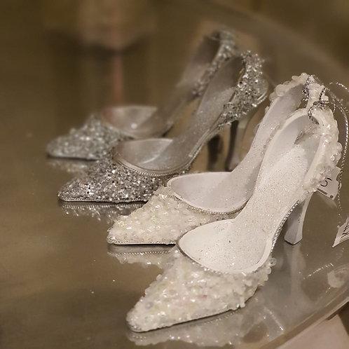 Sparkly Shoe Hanging Decoration