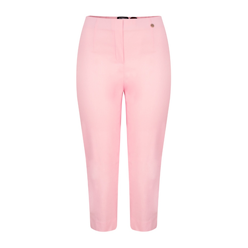 Robell Marie Light Pink Cropped Trousers