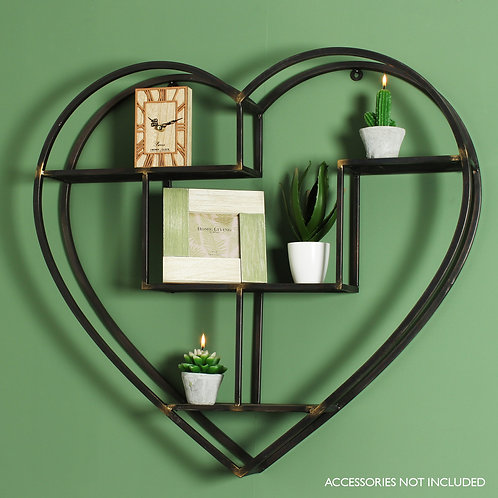 Heart Shaped Shelf