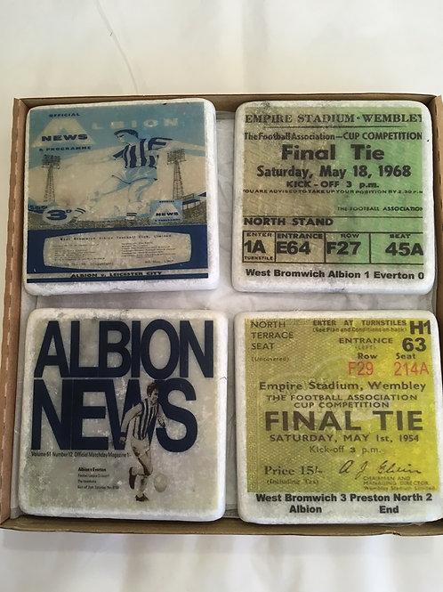 West Bromwich Albion Coaster Set