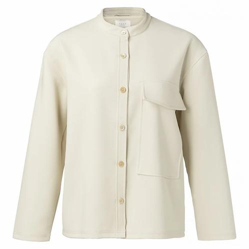 Yaya Pocket Design Off White Jacket