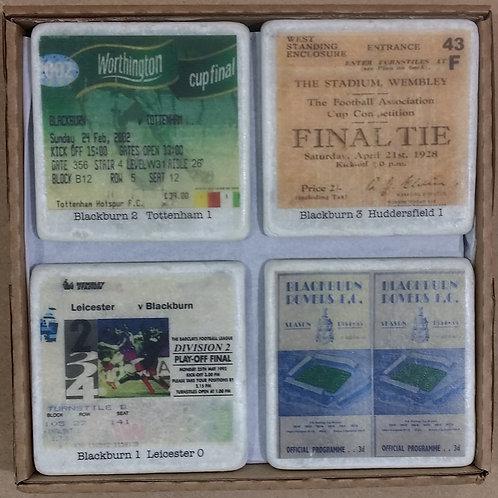 Blackburn Rovers Coaster Set