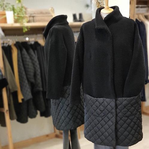 GR Nature Black Wool Coat