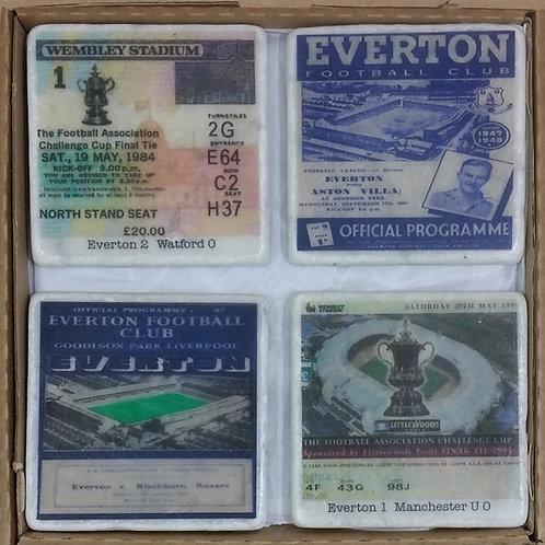 Everton Coaster Set
