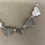 Thumbnail: Silver and Grey Sparkle Necklace