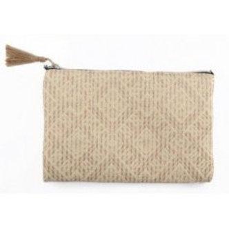 Woven Makeup Bag 14cm