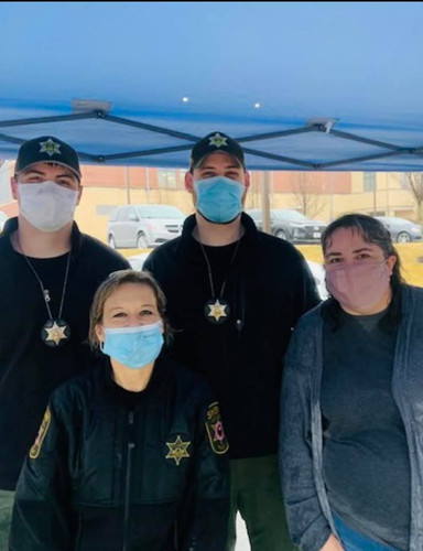 Clay County Sheriff Giving Back