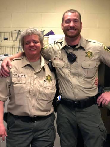 Lt Veto and Deputy Doss