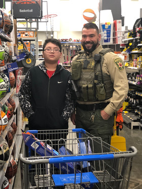 Shop With a Sheriff 2018