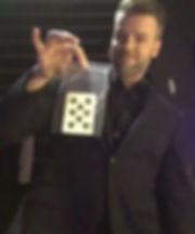 Michael Barron card in bag magic