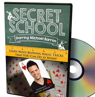 Michael Barron dvd secret school magic